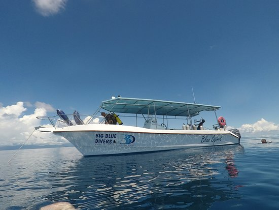 Beau Vallon, Seychellen: Big Blue Divers - Blue Spirit Boat