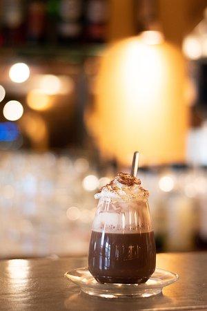 Chocolat viennois au Café du Pond