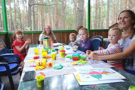 Staryi Saltiv, Ukraine: детское развитие на база отдыха залив