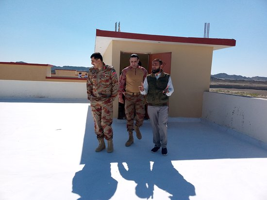 Roof Heat and Waterproofing done at FC Camp, Turbat, South Balochistan