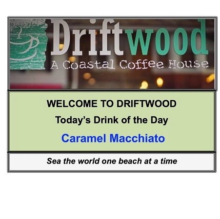 Thursday... one day closer to the weekend! Think that calls for something special...  #CaramelMacchiato #DriftwoodCoffeeHouse #LoveSpringLake