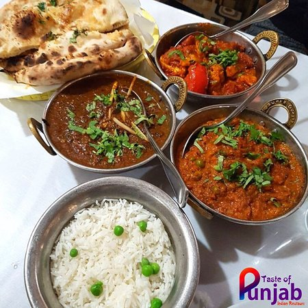 Dive into delicious Indian cuisine today at Taste of Punjab!❤️