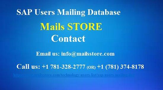 Storbritannien: Buy Sap Users Mailing List | Sap Users Email List | Sap Users List https://www.mailsstore.com/technology-users-list/sap-users-mailing-list/