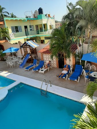 Visit a real Mexican beach hotel.