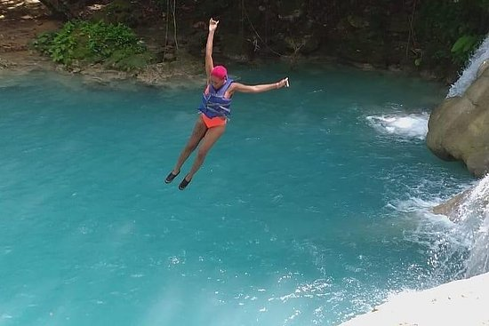 Blue Hole Secret Falls Private Tour