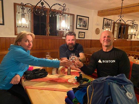 Bayrischzell, Almanya: Ein Abend in der WA