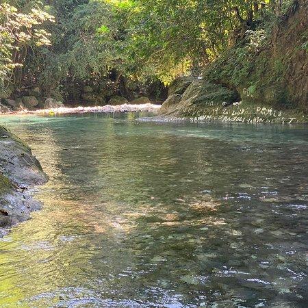 Barahona Province, Dominican Republic: Речушка Какао Бараона