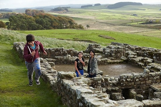 Fort romain de Housesteads - Mur...