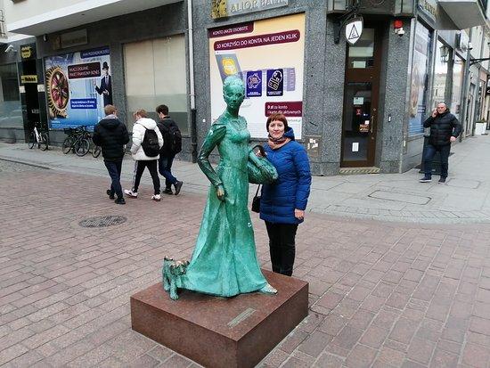 Pomnik Piernikarki Torunskiej
