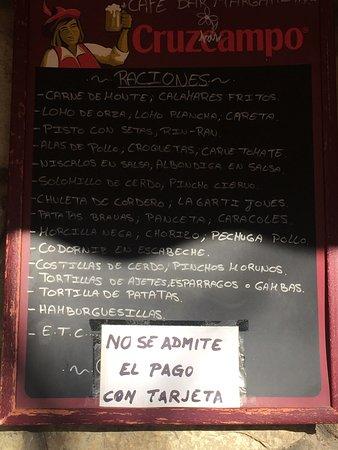 imagen Bar Margarita en La Iruela