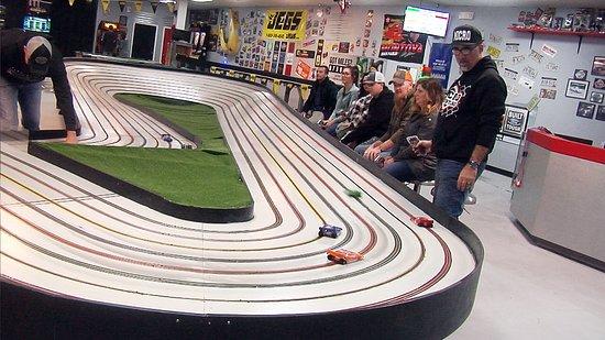 The Checkered Flag Slot Car Raceway and Arcade