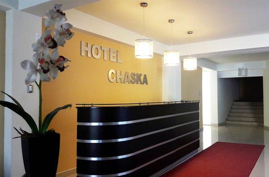 """área de recepción """"hotel chaska- Uripa-Apurimac- Perù"""