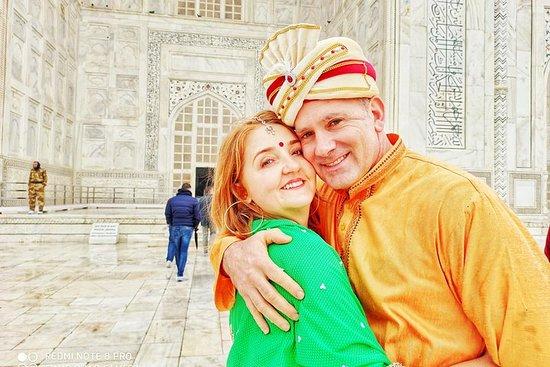Excursion privée de 2 jours à Agra et...
