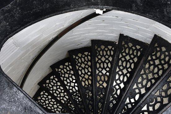 Rapid River, MI: Spiral Stairs