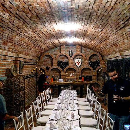 Campoalegre, Colombia: Wine storage room.