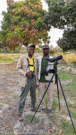 Marakissa, Gambia: Solomon and Omar