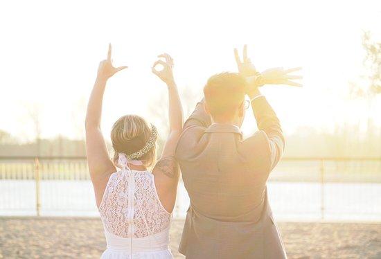 Dinslaken, เยอรมนี: Hochzeits Paar Shooting