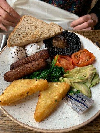 The Forest Restaurant: Veggie breakfast
