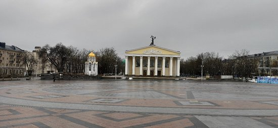 Sobornaya Square: 22.02.2020