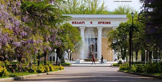 Цхалтубо, Грузия: Visit to N 6 Hot spring in Tskaltubo fro 5 $