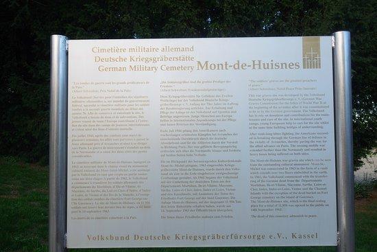 Huisnes sur Mer, Fransa: Placard