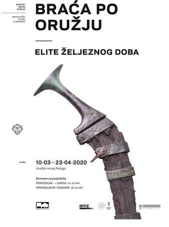 """Pozega, โครเอเชีย: Izložba """"Braća po oružju - elite željeznog doba"""" od 10.03. do 23.04.2020. Otvorenje izložbe 10.03.2020. u 18:00 sati"""