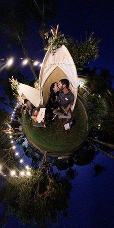 La Puente, CA: Fun date night at The BBQ Yard with Sleepie-Teepie