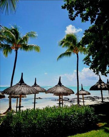 Palmar: Belle Mare Beach,  la mia preferita. Spiaggia privata del resort. Relax in Mauritius.