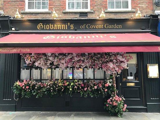 GIOVANNI'S, Londra - 10 Goodwins Ct, Covent Garden - Menu & Prezzo ...