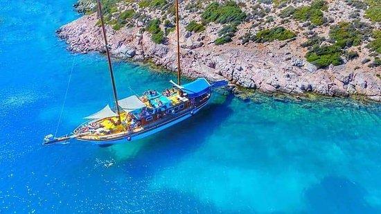 Saint Mary Cesme Boat Tour