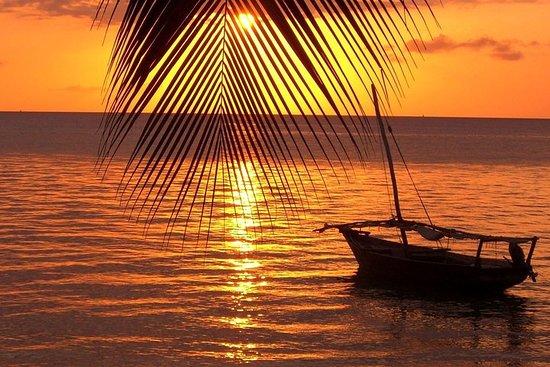 Coucher de soleil à Zanzibar...