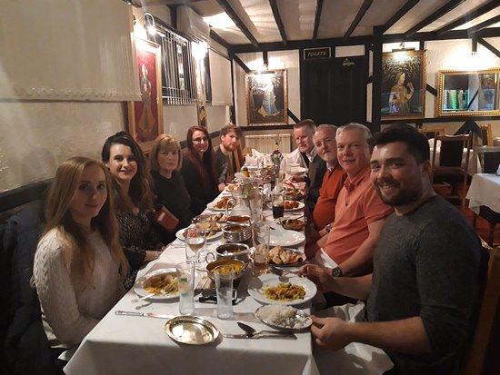 Tudor Raj: Last Caddick's meal before long Holliday