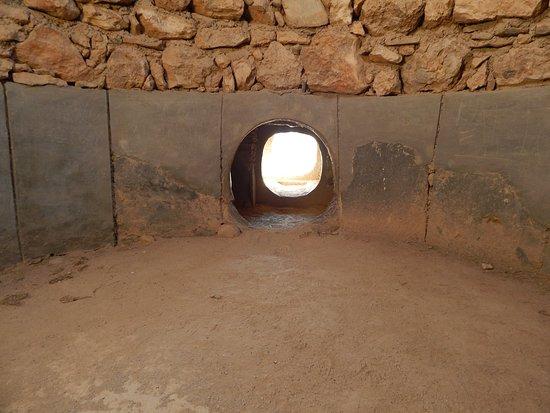 Santa Fe de Mondujar, Spain: interior tumba