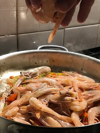 Zaklopatica, โครเอเชีย: Prown preparation