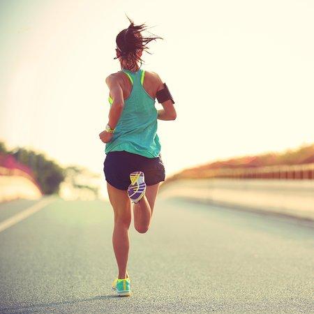 Running in Milos