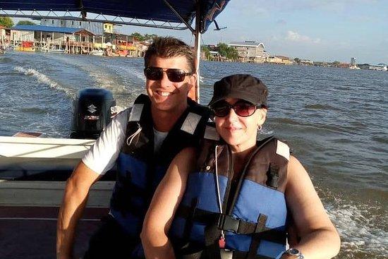 Visite en bateau de partage de...