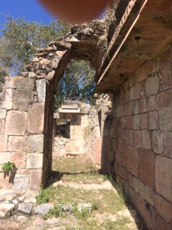 Tekax, Mexico: Upper most level of main plaza