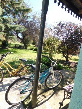 Soriano Department, Uruguay: Para recorrer las calles del pueblo contamos con bicicletas para adultos y una de niño.