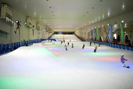 Journée de ski d'été à Séoul