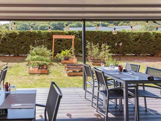 Chaponnay, Francia: Restaurant