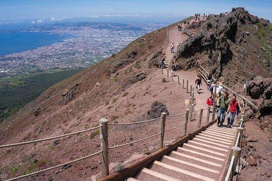 Mt Vesuvius, Pompeii en lokale wijntour ...