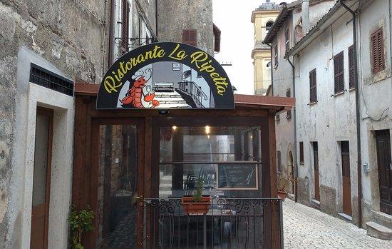 Orvinio, Italy: Entrata