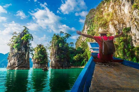 Cheaw Lan Lake heldags-tur fra Phuket