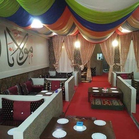 Johor Bahru District, Malaysia: Restoran Molana Design yg luar biasa ,terasa seperti di  negera Arab,🐪 Jom singgah di alamat No 10 jalan Adda 3/3, taman Adda heights 81100 johor bahru