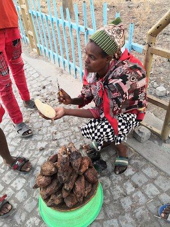 Ziway, เอธิโอเปีย: The streat food