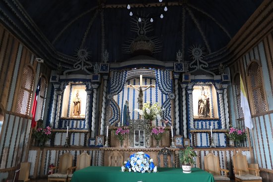 Achao, Chile: main altar