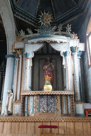 Achao, Chile: side altar