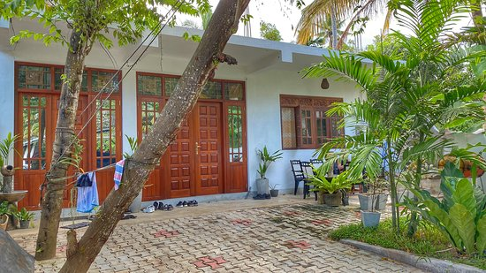 Gurubebila, Sri Lanka: A front of the house