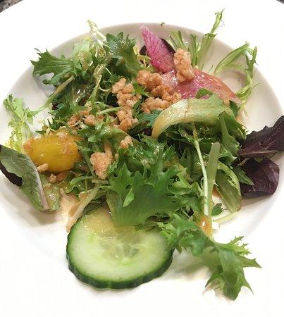 farmer's market green salad