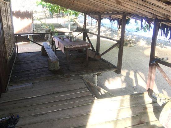 Wewak, Papoea Nieuw Guinea: Verandah of Bungalow